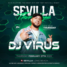 HIP HOP NIGHTS WITH DJ VIRUS LA