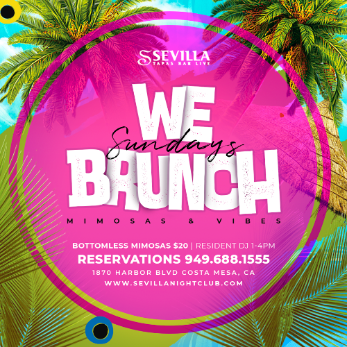 Event: WE BRUNCH Sundays | Date: 2021-05-09