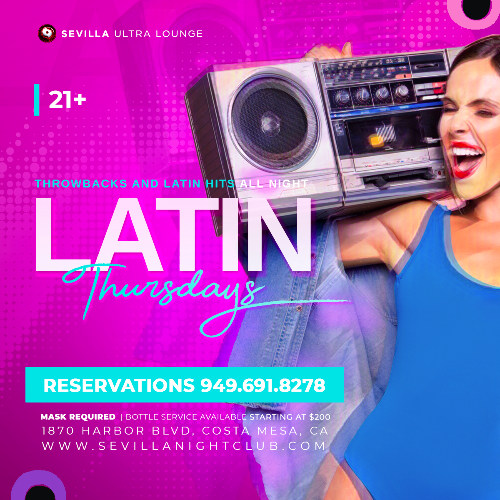 Event: The New New LATIN NIGHTS | Date: 2021-05-13