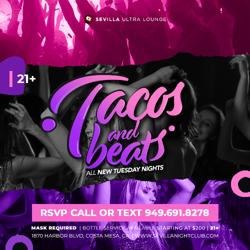 Event: TACOS AND BEATS | Date: 2021-04-20