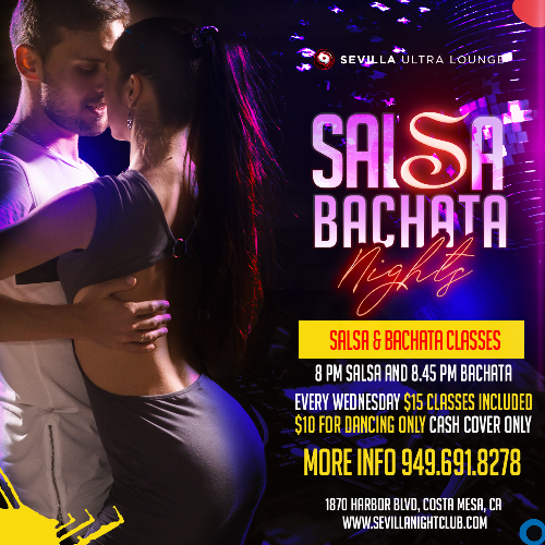 Event: SALSA & BACHATA Nights | Date: 2021-05-12
