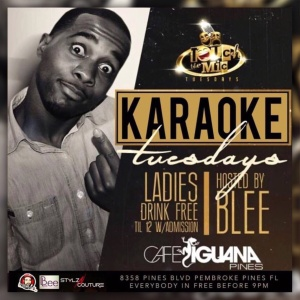 Touch The Mic Tuesday - Karaoke Night