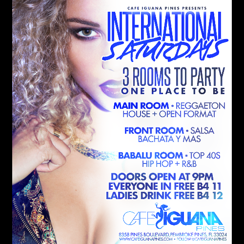 INTERNATIONAL SATURDAYS