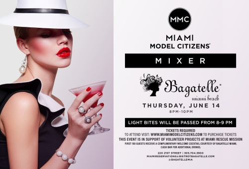 Miami Model Citizens - Bagatelle Miami