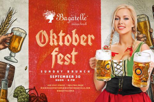 Oktober Fest - Bagatelle Miami
