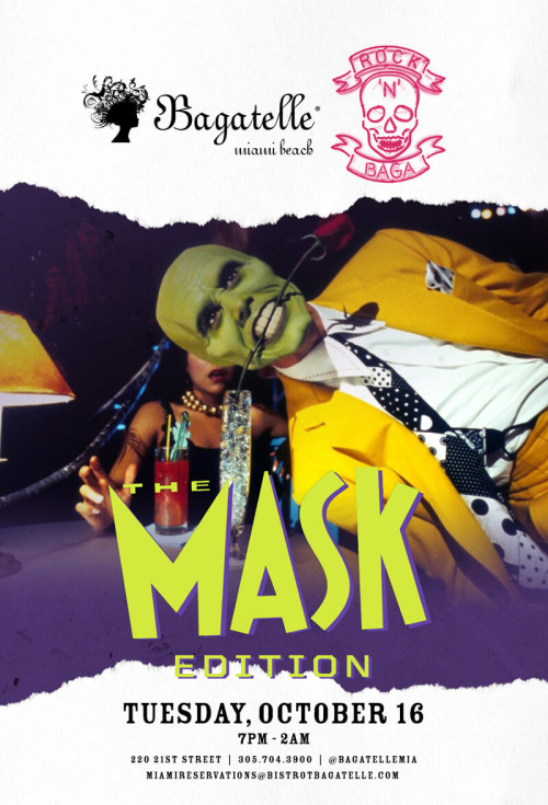 Rock 'N' Baga: The Mask - Bagatelle Miami