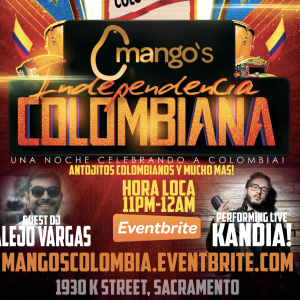 Mango's Colombia Party