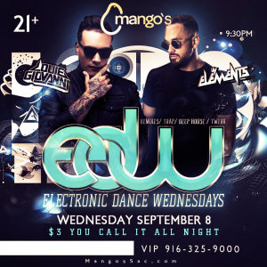 EDW, Wednesday, September 26th, 2018