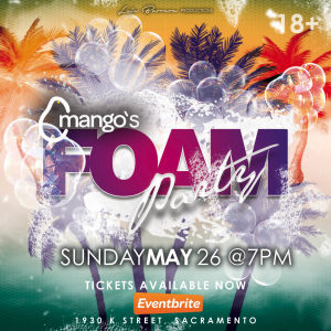 Foam Party, Sunday, May 26th, 2019