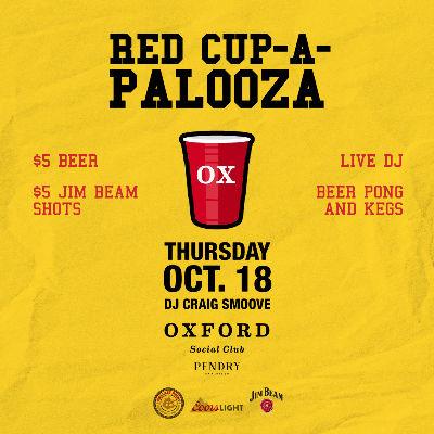 Oxford Social Club: Craig Smoove, Thursday, October 18th, 2018