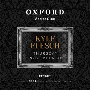 Oxford Social Club: Kyle Flesch, Thursday, November 1st, 2018