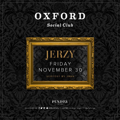 Oxford Social Club: Jerzy, Friday, November 30th, 2018