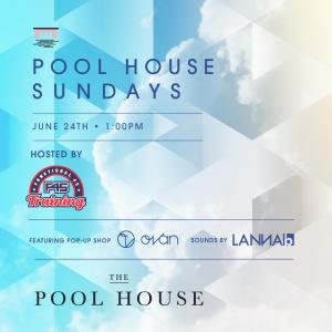 Pool House Sundays hosted by F45 Training w/ Lanna B & Ovan Eyewear