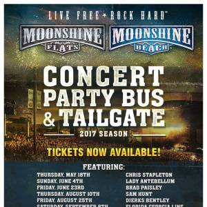 Moonshine FLATS - Moonshine Party Pass to Jason Aldean