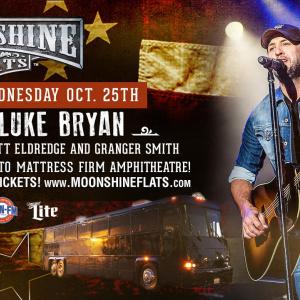 Moonshine FLATS - Moonshine Party Pass to Luke Bryan