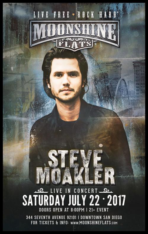 Steve Moakler LIVE in Concert at Moonshine Flats - Moonshine Flats