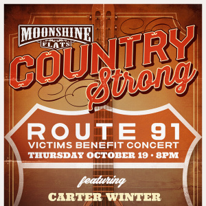 Country Strong Route 91 Victims Benefit Concert at Moonshine Flats