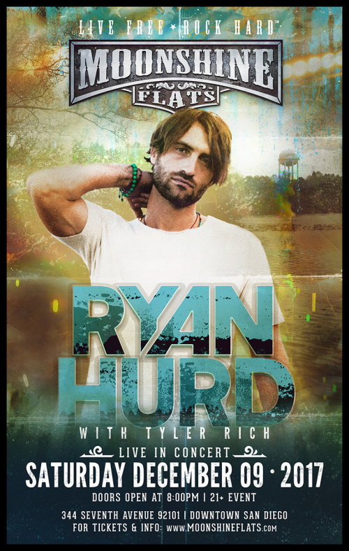 Ryan Hurd with Tyler Rich LIVE in Concert at Moonshine Flats - Moonshine Flats