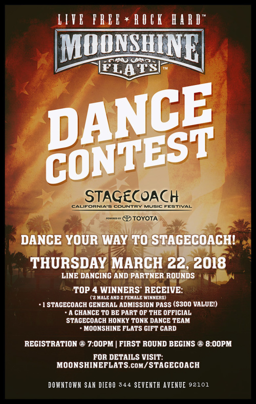 Stagecoach Dance Contest at Moonshine Flats - Moonshine Flats