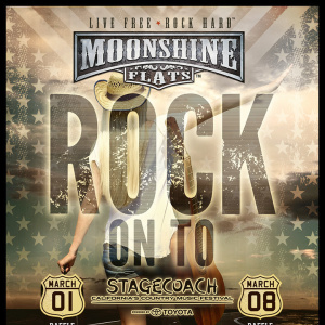 Rock on to Stagecoach Raffle at Moonshine Flats