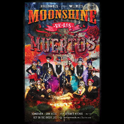 Moonshine De Los Muertos w/ Chris Shrader at Moonshine Flats, Saturday, October 27th, 2018