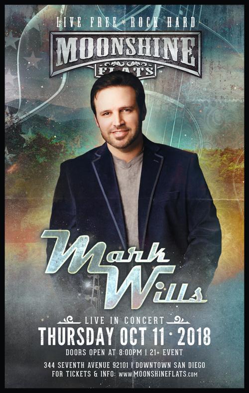Mark Wills LIVE in Concert at Moonshine Flats - Moonshine Flats