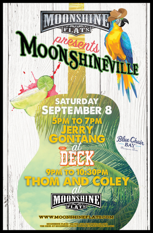 Moonshineville with Thom Shepherd LIVE at Moonshine Flats - Moonshine Flats