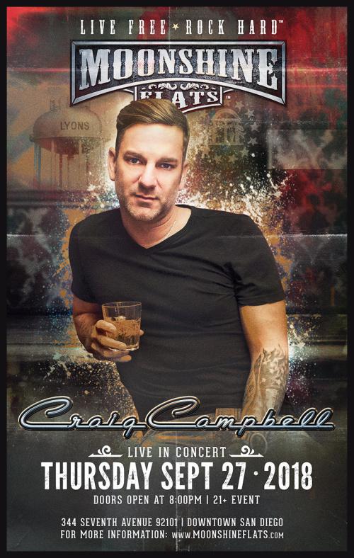 Craig Campbell LIVE in Concert at Moonshine Flats - Moonshine Flats