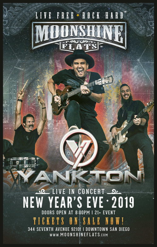 NYE 2019 with Yankton LIVE at Moonshine Flats - Moonshine Flats