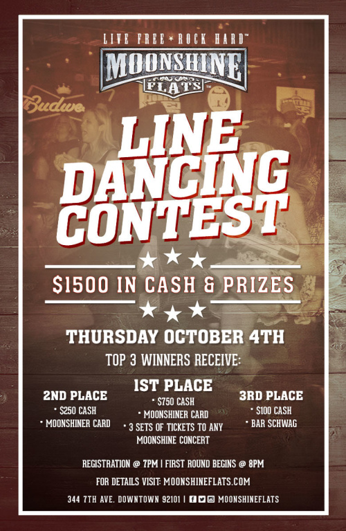Line Dancing Contest at Moonshine Flats - Moonshine Flats