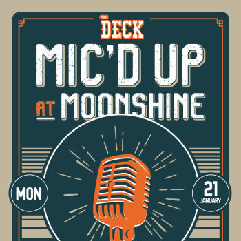 Mic'd Up Singing Competition at The Deck at Moonshine Flats