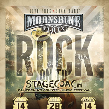 STAGECOACH Giveaways at Moonshine Flats