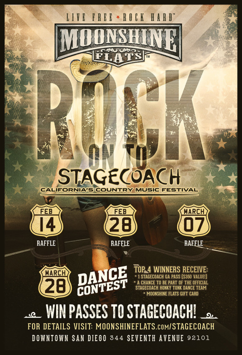 STAGECOACH Giveaways at Moonshine Flats - Moonshine Flats