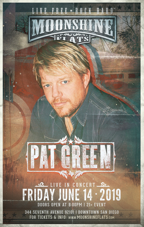 Pat Green Live in Concert at Moonshine Flats - Moonshine Flats