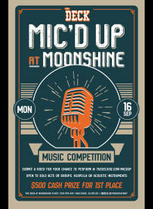 Mic'd Up Music Competition at The Deck