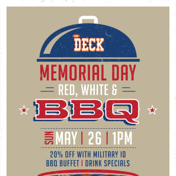 Memorial Day BBQ at The Deck at Moonshine Flats