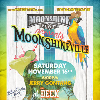 Moonshineville with Mike Nash & The Southern Drawl Band at Moonshine Flats