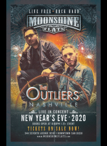 NYE 2020 with The Outliers at Moonshine Flats