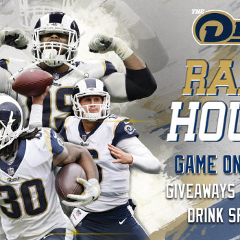 Rams Watch Party and Raffles at The Deck at Moonshine Flats