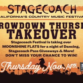 Stagecoach Throwdown Thursday Takeover at Moonshine Flats