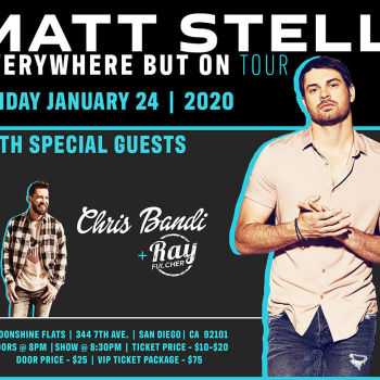 Matt Stell Live in Concert with Chris Bandi and Ray Fulcher at Moonshine Flats