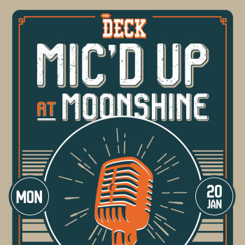Mic'd Up Music Competition at The Deck at Moonshine Flats