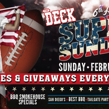 6th Annual Super Sunday Party at The Deck