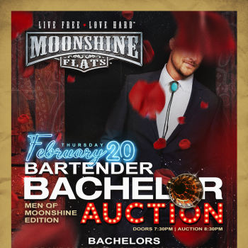 Bartender Bachelor Auction at Moonshine Flats