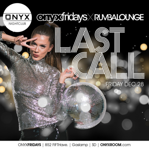 Rumba Lounge Fridays - Onyx Room