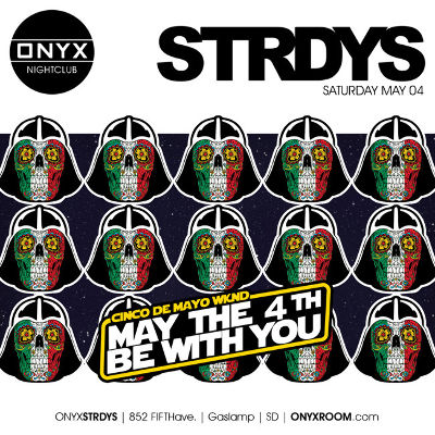 ONYX Saturdays: Never Before Now, Saturday, May 4th, 2019