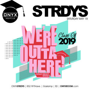 ONYX Saturdays: Never Before Now, Saturday, May 18th, 2019