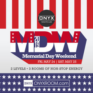 ONYX Saturdays: Never Before Now, Saturday, May 25th, 2019