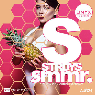ONYX Saturdays: Never Before Now, Saturday, August 24th, 2019