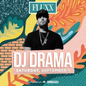 DJ Drama, Saturday, September 1st, 2018